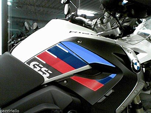 KIT ADESIVI 3D PROTEZIONI LATERALI BMW 1200 compatibili MOTO GS R1200 2008-2012