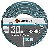 GARDENA Classic Schlauch 13 mm (1/2'), 30 m: Universeller Gartenschlauch aus robustem...