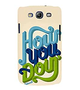 FUSON How You Doing Friends 3D Hard Polycarbonate Designer Back Case Cover for Samsung Galaxy S3 Neo I9300I :: Samsung I9300I Galaxy S3 Neo :: Samsung Galaxy S Iii Neo+ I9300I :: Samsung Galaxy S3 Neo Plus