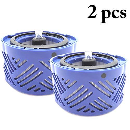 JUSTDOLIFE 2 STÜCKE Dyson V6 Vakuum Nach Filter Ersatz HEPA Post Filter -