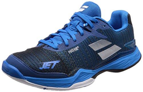 Babolat Chaussures DE Tennis Jet Mach II All Court pour Hommes, Bleu, 44