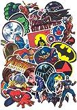 SetProducts  Top Stickers ! Lot de 32 Stickers Marvel - Autocollants HD Non Vulgaires - Bomb, Super Heros, Hulk, Spiderman, Superman, Deadpool - Customisation, Scrapbooking, Personnalisation...