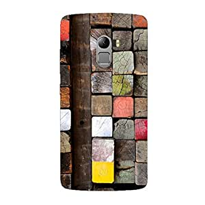 Clapcart Wooden Design Printed Mobile Back Cover Case For Lenovo K4 Note / Lenovo A7010 -Multicolor