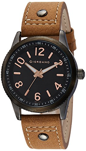 Giordano Analog Black Dial Men's Watch - A1053-07