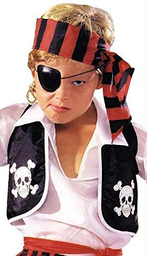 Pirate Vest Child - Unitard Kostüm Muster