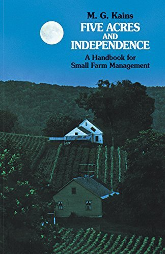 Five Acres and Independence: A Handbook for Small Farm Management by Maurice G. Kains (1973-05-03)