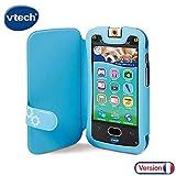 VTech- Funda Kidicom MAX, Color Azul