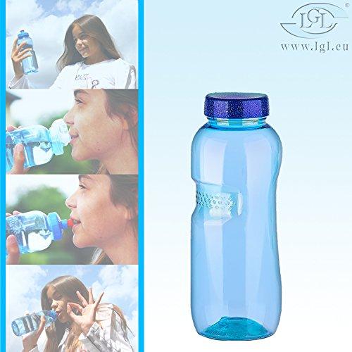 Tritan Trinkflasche - Wasserflasche - Sport - Fahrrad - Fitness - BPA-frei (0,5L Trinkflasche)