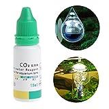 ECMQS Aquarium CO2 Indikator Lösung Aquarium Flüssig Test Pflanzen Liefert Langzeit