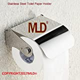 MLD® Glossy steel finish Toilet Paper Holder