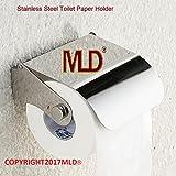 MLD® Glossy steel finish Toilet Paper Holder