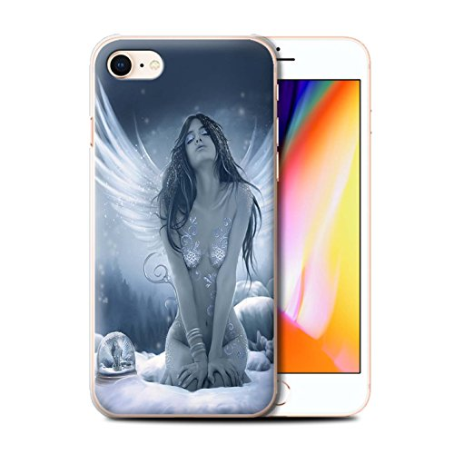 Offiziell Elena Dudina Hülle / Case für Apple iPhone 8 / Meer Kleid Muster / Fantasie Engel Kollektion La Nieve