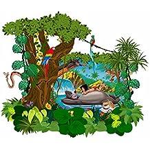 Kinderzimmer wandgestaltung dschungelbuch  Suchergebnis auf Amazon.de für: wandtattoo dschungelbuch