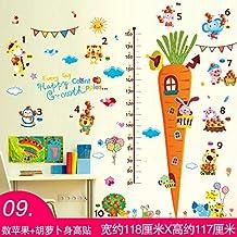 Adesivi murali stereoscopici 3d adesivi per bambini camera dei bambini scuola materna decorazione della parete della parete pittura camera da letto carta da ...