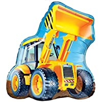 Construction loader Jumbo foil balloon party Accessory 32