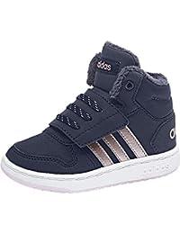 Adidas Hoops Mid 2.0, Scarpe da Ginnastica Basse Unisex – Bimbi 0-24