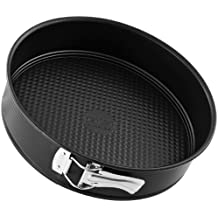 Zenker 6503 - Molde desmontable para tartas, 26 cm, color negro