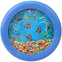 VWH Baby Kids Sound Music Gift Toddler Rattle Musical Toys Child Ocean Wave Bead Drum Educational Toys