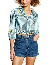 SIDECAR, LUPE-V16 - Camisa Estampada Manga Codo para mujer