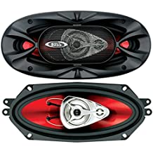 Boss Audio Systems CH4330 De 3 vías 400W altavoz audio - Altavoces para coche (De 3 vías, 400 W, 400 W, Aluminio, 100 - 18000 Hz, 287 mm)