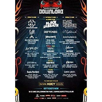 Download Festival 2016 - Black Sabbath Iron Maiden and