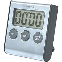 TechnoLine KT 200 - Temporizador, color negro y aluminio