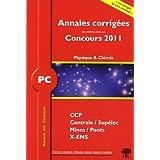 PC Physique et Chimie 2011 : Annales des concours
