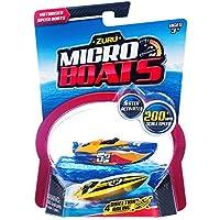 Zuru - Micro Boats Barcos de agua de 4 direcciones - Color aleatorio (ColorBaby 42786)