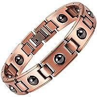 Magnetisches Patina-Kupfer-Armband mit Magneten - Superior Modell - 18,5 cm preisvergleich bei billige-tabletten.eu
