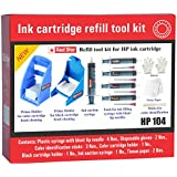 [Sponsored]Ink Cartridge Refill Tool Kit For HP 678,680,802,803,818,901,703,704,46 Black And Color Cartridge, Red Star Brand