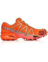 the best attitude 57c0f c6047 Salomon Speedcross 4 Women s Trail Running Shoes - 7.5 Red
