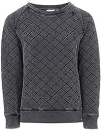 Animal Womens Quilted Sweatshirt