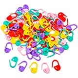 ROSENICE Locking Stitch Markers Knitting Sweater Scarf for Baby (Assorted Colors) - 120 pieces