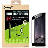 La luz UV-Filtro azul cyxus - [0,2 mm] dormir mejor cobertura completa horas 9 Protector de pantalla de vidrio templado para Apple iPhone 6 Plus/iPhone 6S Plus(5.5'') la máxima protección