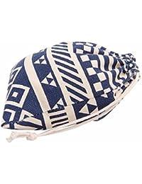 Sannysis bolsos de mujer con cordón mochila infantil Bolsa de hombro rayas de viento
