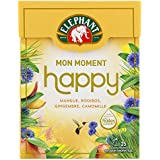 Elephant Infusion Mon Moment Happy 25 Sachets Pyramides -