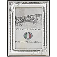 FIOCCO S Cornice per Foto 6x9cm Portafoto Argento Artigianale Made in Italy