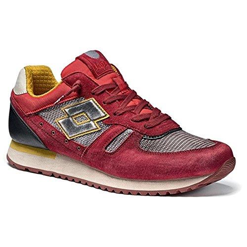 Lotto Leggenda Tokyo Shibuya uomo scarpe ginnastica rosso