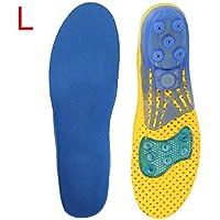 Schuheinlagen,Sport Einlegesohlen mit dämpfender Arch Unterstützung,EVA Heel Lift Insert Schuhe Pad Silikon Gel... preisvergleich bei billige-tabletten.eu
