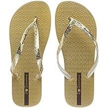 Ipanema Glam Frauen Flip-Flops / Sandalen-Gold-37 BxnLZM2EN