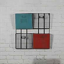 ASL Retro Eisen Bcher Und Zeitschriften Magazin Regale Wanddekoration Wand Regal 51 53cm Creative