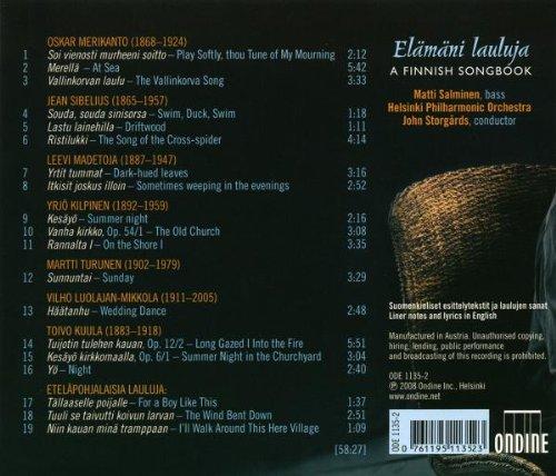 Mélodies Avec Orchestre De Compositeurs Finlandais