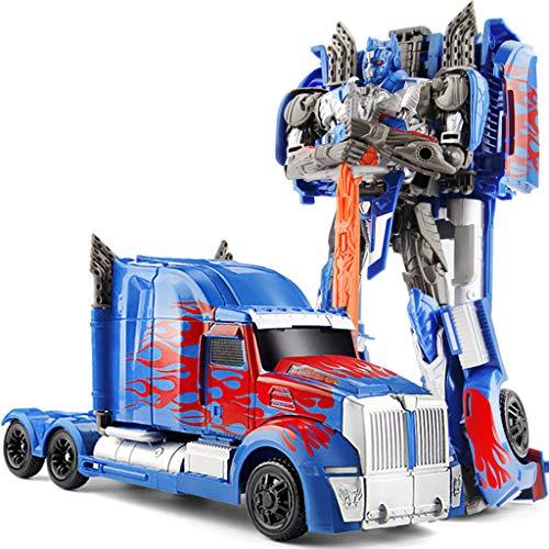 Siyushop Heroes Rescue Bots , Auto Man Model, Deformed Car Toy para niños , Combat Robot Model niños
