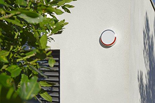 51I-0cth8aL [Bon Plan Domotique] SOMFY - Sirène Extérieure | Sirène Extérieure 112 dB avec Flash Lumineux | Compatible avec Somfy One et Somfy Home Alarm | Batterie Remplaçable (2 ans) | Installation Facile | App pour iOS/Android