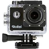 Rollei Actioncam 510 - WiFi Action Cam (Actionkamera) mit Full HD Video Auflösung, Weitwinkelobjektiv, bis 40 m wasserfest, inkl. Unterwasserschutzgehäuse - Schwarz