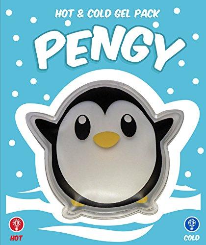 Warm- & Kalt-Kompresse für Kinder - Pengy Pinguin - Wiederverwendbar - 10 x 12 cm