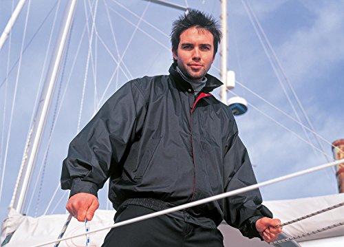Result Waterproof leisure jacket Schwarz - Black Red Contrast