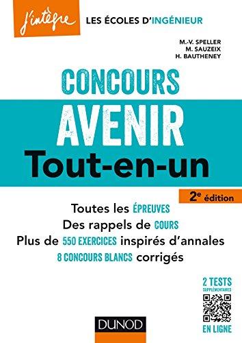 Concours Avenir - 2e d. - Tout-en-un