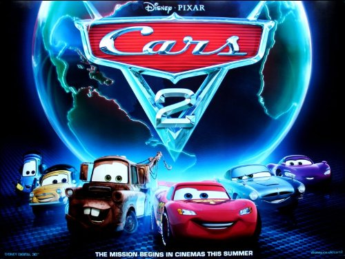 Unbekannt Cars 2 Movie Poster (Poster Movie Cars 2)