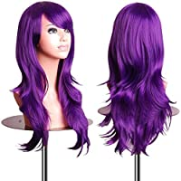 EmaxDesign Wigs - Parrucca da 70 cm / 28